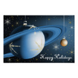 Happy Holidays From Cassini Print