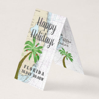 Happy Holidays from Florida Nautical Gift Tags