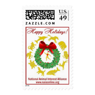 Happy Holidays from NAIA Postage Stamps