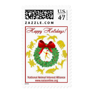 Happy Holidays from NAIA Postage Stamp