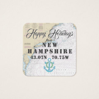 Happy Holidays from New Hampshire Gift Tags