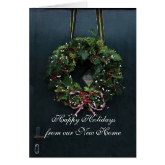 Happy Holidays from our new home Card