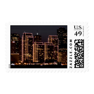Happy Holidays from San Francisco Stamp
