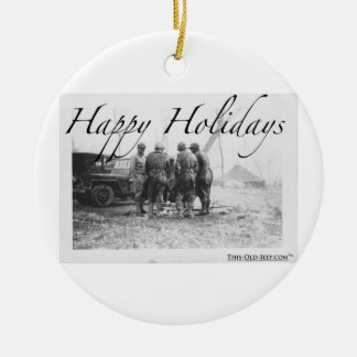 Happy Holidays From The GIs Ornament