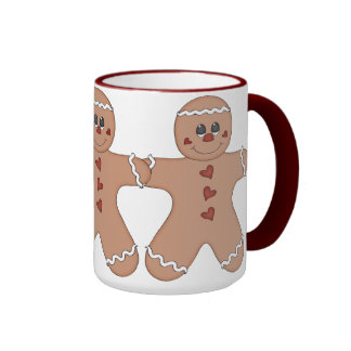 Happy Holidays Gingerbread Mug