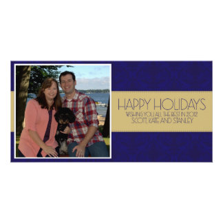 Happy Holidays Gorsky Personalized Photo Card