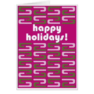Happy Holidays Greeting Card 2017