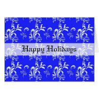 Happy holidays greeting card. card