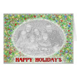 Happy Holiday's Greeting Cards