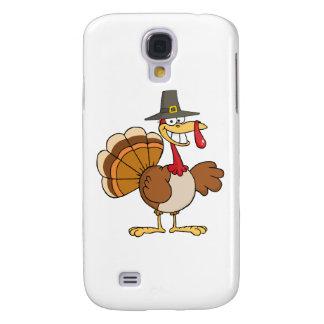 Happy Holidays Greeting With Turkey Galaxy S4 Case