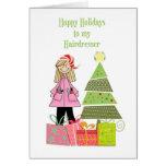 Happy Holidays, Hairdresser Cards