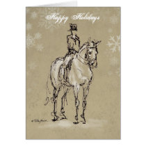 Happy Holidays Halt at X Card