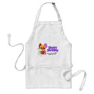 Happy Holidays-Happy Anything-Happy Everything Adult Apron