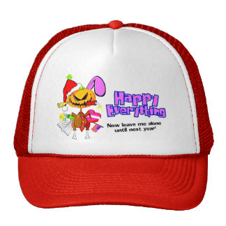 Happy Holidays-Happy Anything-Happy Everything Trucker Hat