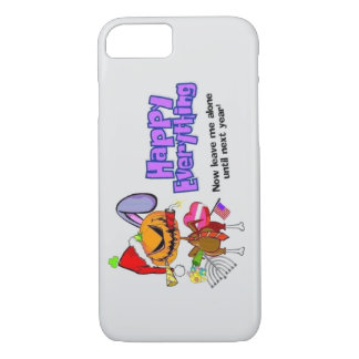 Happy Holidays-Happy Anything-Happy Everything iPhone 8/7 Case