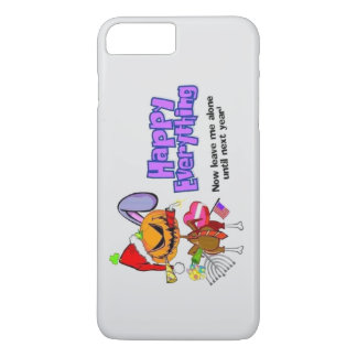 Happy Holidays-Happy Anything-Happy Everything iPhone 8 Plus/7 Plus Case
