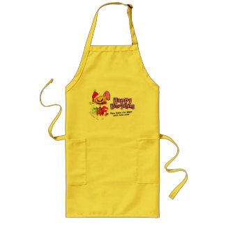 Happy Holidays-Happy Anything-Happy Everything Long Apron