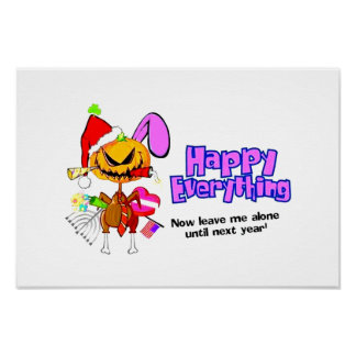 Happy Holidays-Happy Anything-Happy Everything Poster