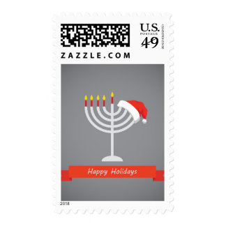 Happy Holidays, Happy Holidays And Happy Postage Stamps