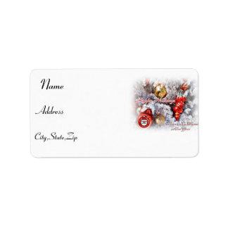 Happy Holidays,Happy New Year_Label Label