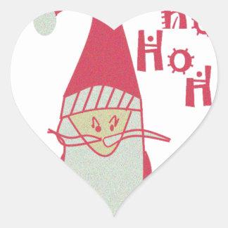 Happy Holidays Ho Ho Ho Merry Christmas.png Heart Sticker