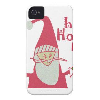 Happy Holidays Ho Ho Ho Merry Christmas.png iPhone 4 Case-Mate Case