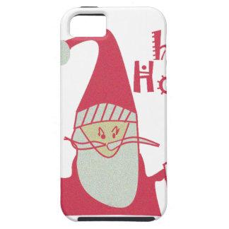 Happy Holidays Ho Ho Ho Merry Christmas.png iPhone SE/5/5s Case