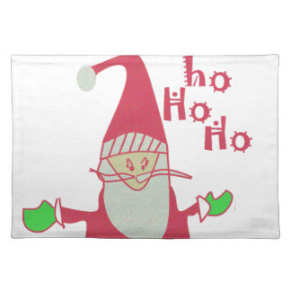 Happy Holidays Ho Ho Ho Merry Christmas.png Placemat