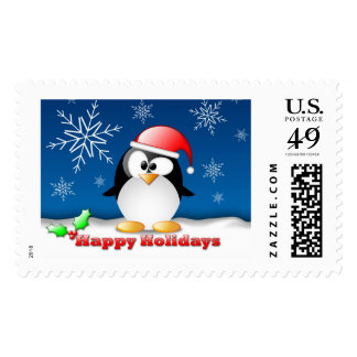 Happy Holidays Holiday Postage