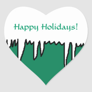 Happy Holidays! - Holiday stickers