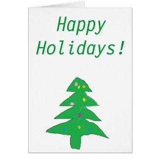 Happy Holidays-humor IV Card
