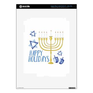 Happy Holidays iPad 3 Skin