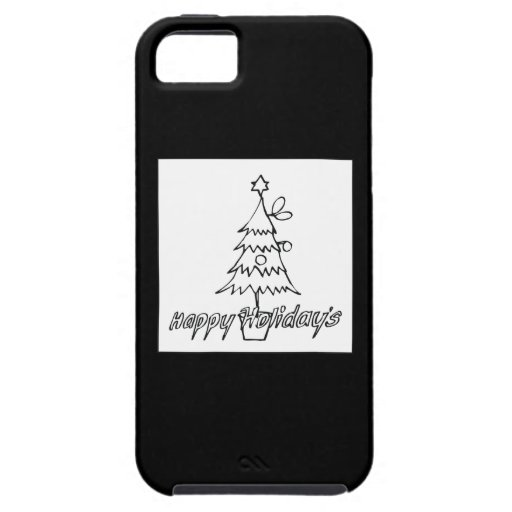 Happy Holidays iPhone 5 Cover