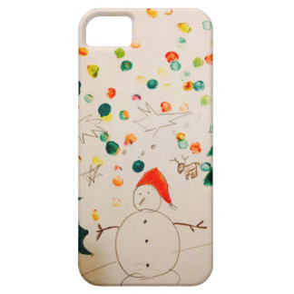 Happy Holidays iPhone SE/5/5s Case