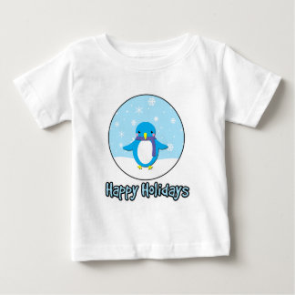 Happy Holidays jolly penguin Shirt