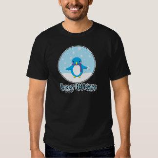 Happy Holidays jolly penguin T-shirt