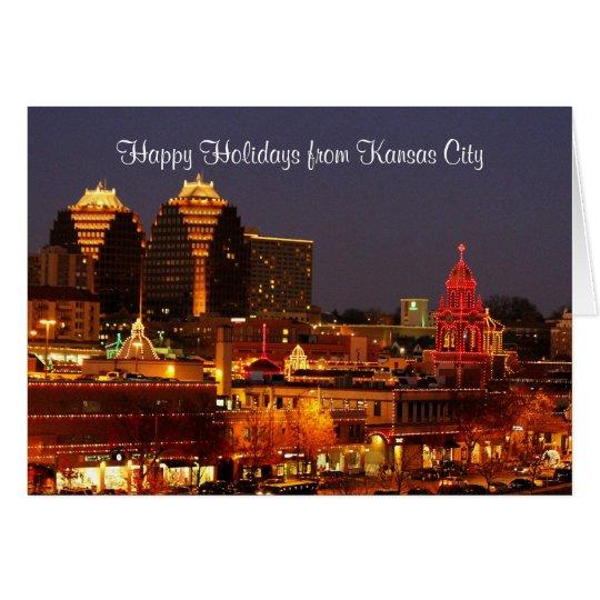 Happy Holidays Kansas City Plaza Lights Card