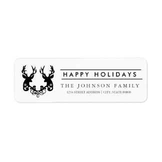 Happy Holidays Labels. Label