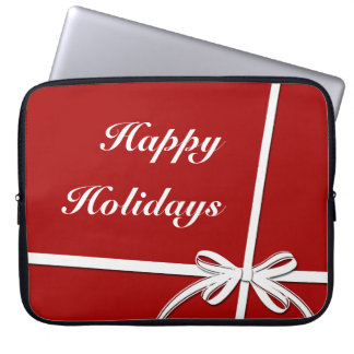 Happy Holidays Laptop Sleeve