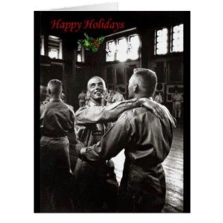 Happy Holidays Tarjeta De Felicitación Grande