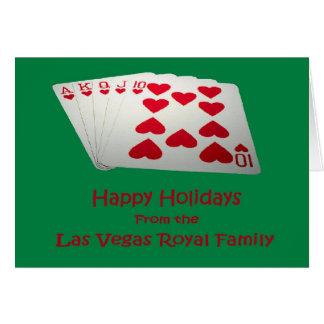 Happy Holidays Las Vegas Royal Family Card