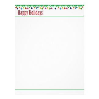 Happy Holidays Letterhead