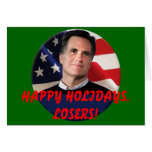 Happy Holidays, Losers - Card