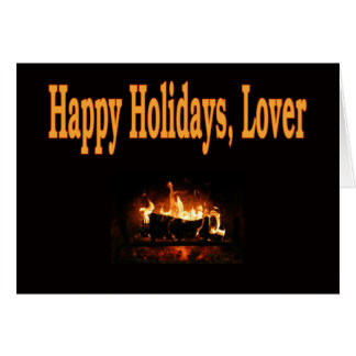 Happy Holidays, Lover Card