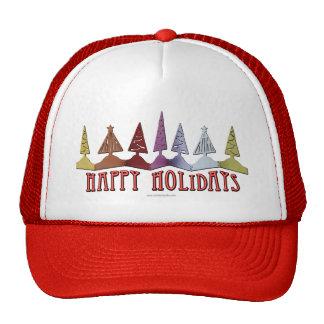 Happy Holidays... Mesh Hats