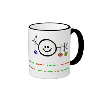 Happy Holidays Morse Code Happy Ham Mug