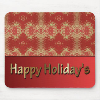 Happy Holiday's Mouse Pad