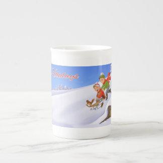 Happy Holidays Mug Tea Cup