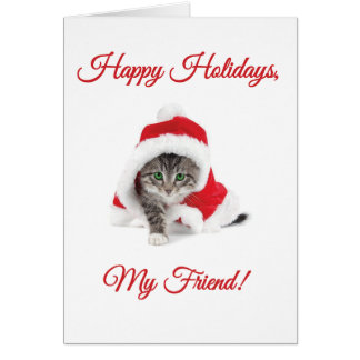 Happy Holidays, My Friend! Greeting Cards