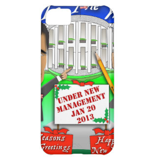 Happy Holidays New Management Cover For iPhone 5C